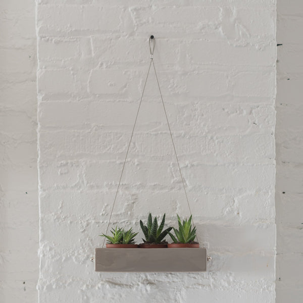 hanging planter - ragna hanging planter - chive