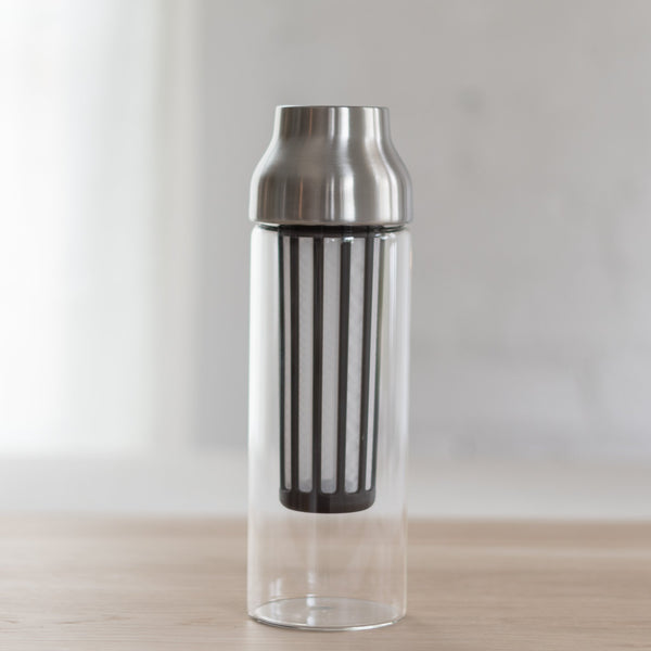 cold brew capsule container - cold brew carafe - kinto coffee cold brew - kinto cold brew