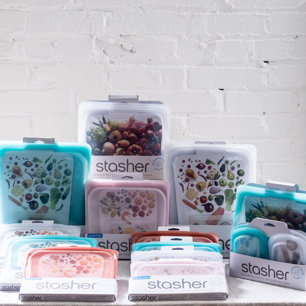 stasher - silicone storage - food storage