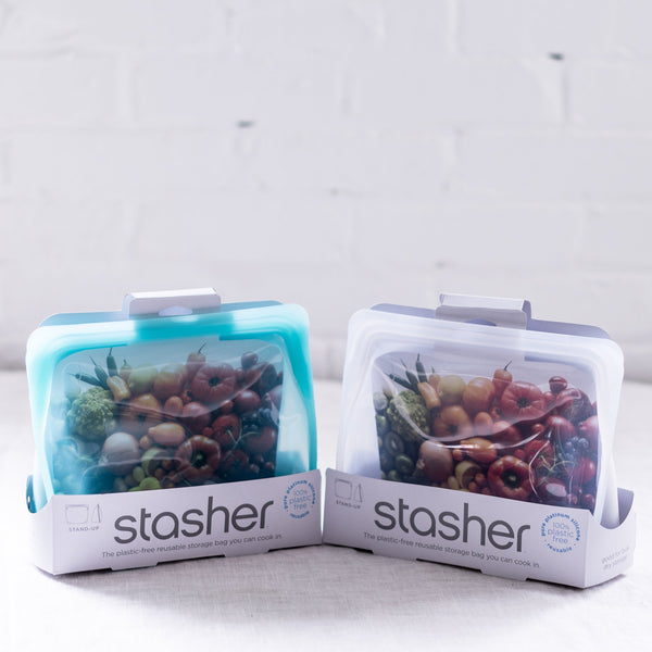 stasher - storage - eco-friendly food storage - silicone