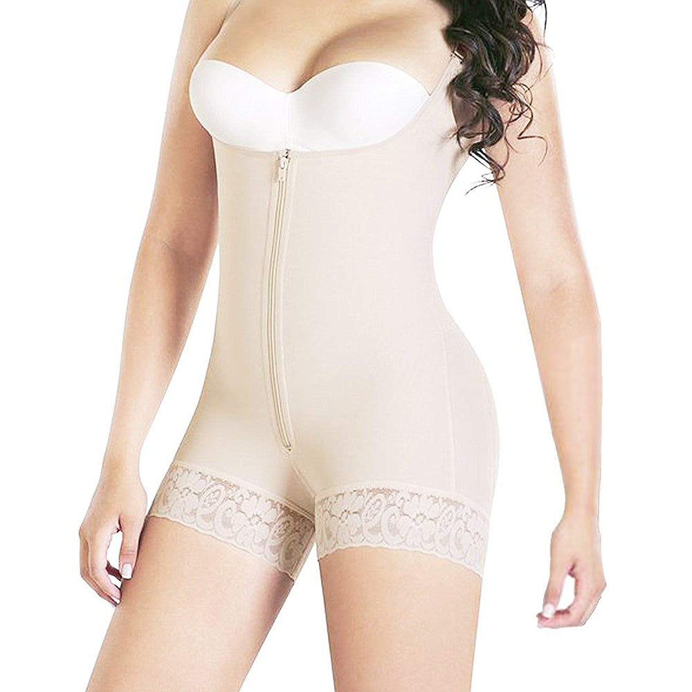 53071c76ff Full Body Shaper Tummy Control Bodysuit Waist Cincher Underbust Shapewear  Slimming Trainer Panties Gridle Corset Women ...