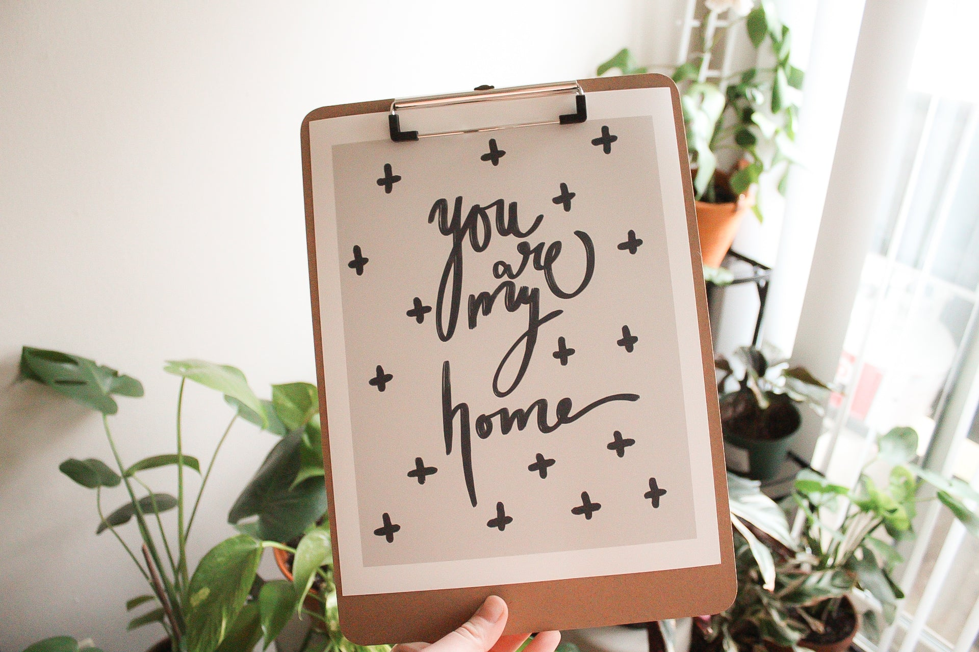 You Are My Home Print