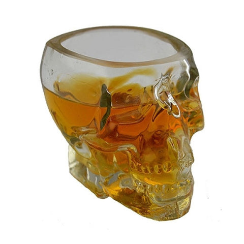 Skull shot glass 3oz.  SALE