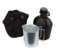 3 piece Canteen Kit - Black