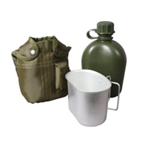 3 piece Canteen Kit - OD Green