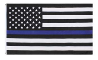 Thin Blue Line Flag - 3 ft. x 5 ft. Polyester