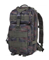 Medium Transport Backpack - Tiger Stripe