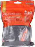 SOL All Weather Fire Cubes with sparker