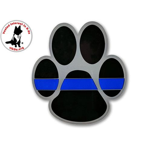 Thin Blue Line K-9 Sticker
