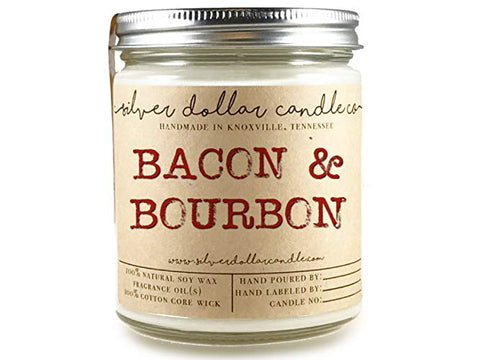 Bacon & Bourbon Soy candle