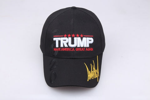 Trump Make America Great Again Cap- Black