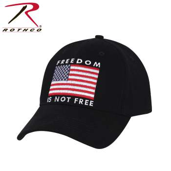 "Rothco ""Freedom is not Free"" Low Profile Hat"
