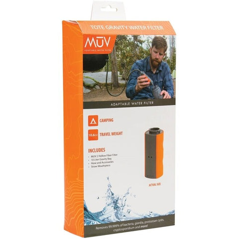 MUV Water Filter Tote Gravity Bag