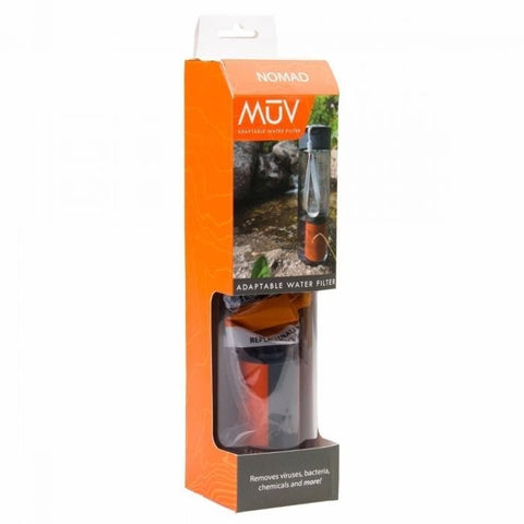 MUV Nomad Water Filter Travel package