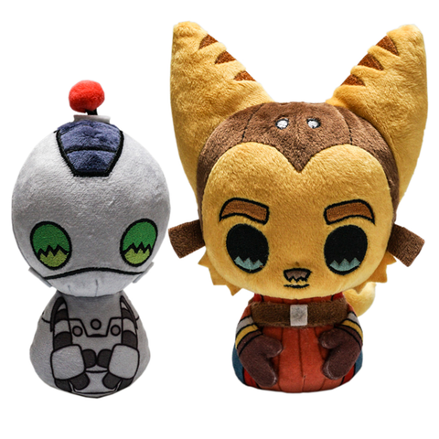 Ratchet & Clank Plush Set