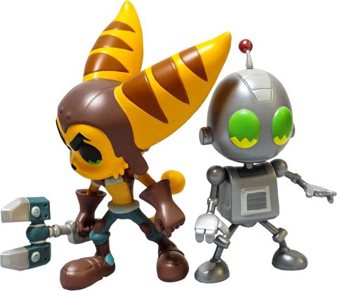Ratchet & Clank Vinyl Figures
