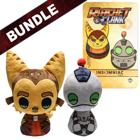 RATCHET & CLANK PLUSH BUNDLE