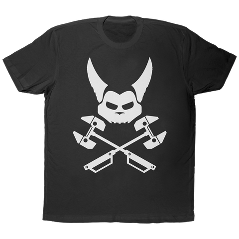 Cross Bones Ratchet Black Tee