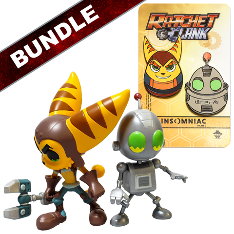 Ratchet & Clank Vinyl Figures Bundle