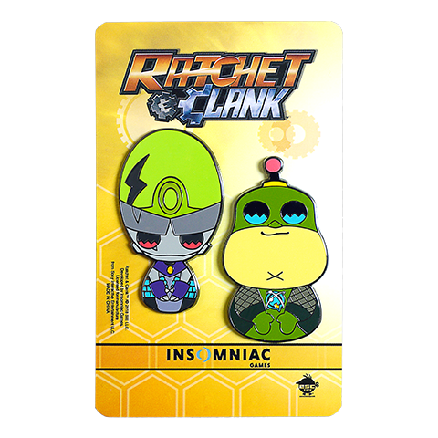 Ratchet & Clank Pin Set B