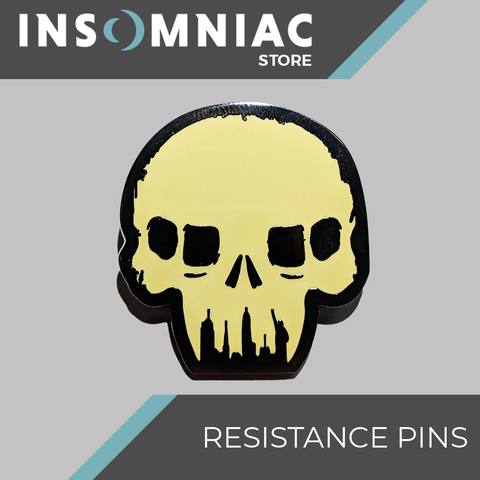 Resistance Skull Regular Pin