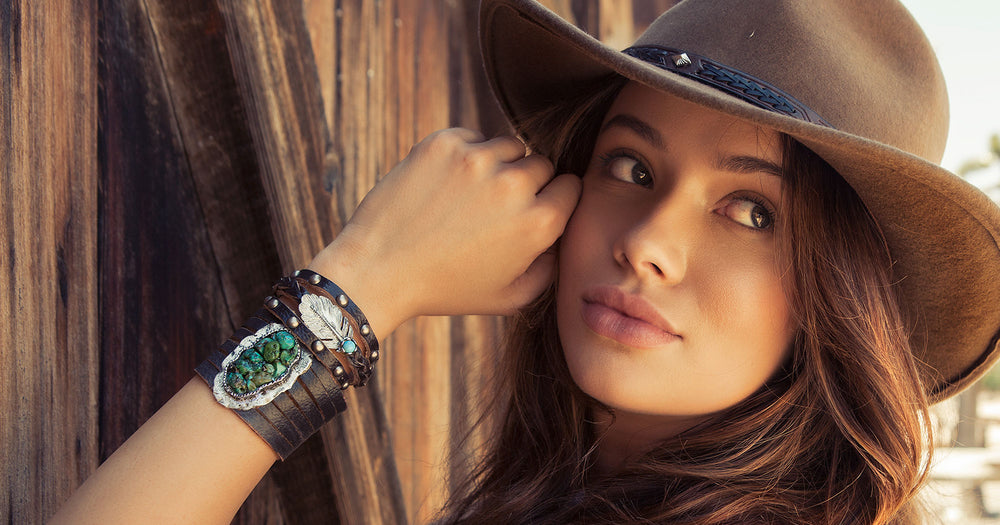 Women's western cuffs and bracelets