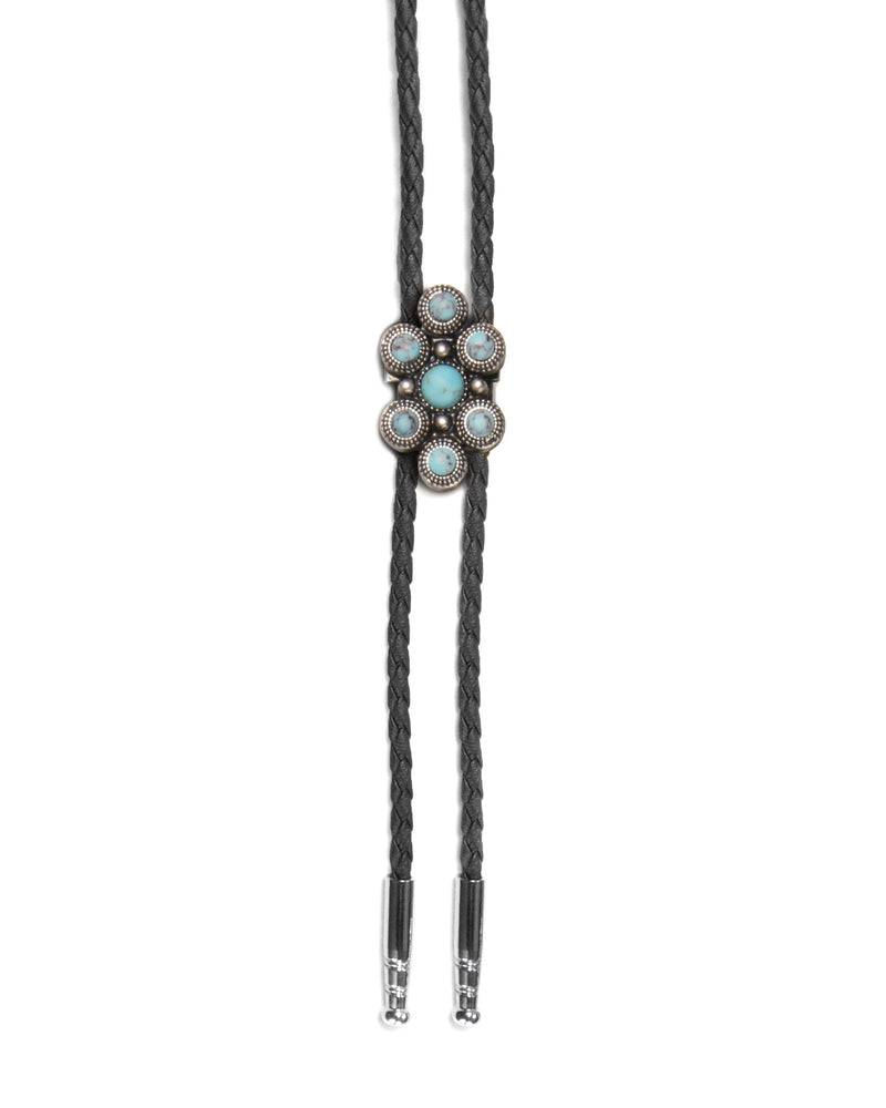Load image into Gallery viewer, Ride or Tie Turquoise Bolo