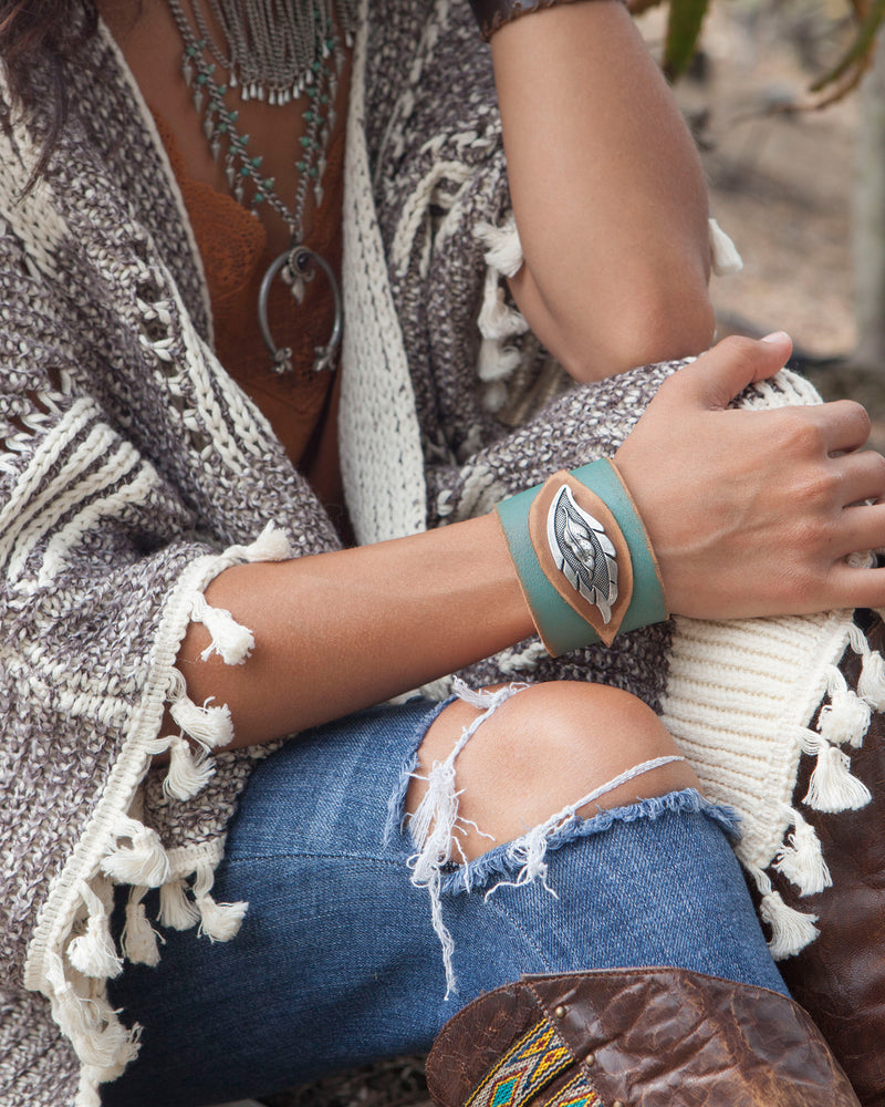 Feather Step Cuff