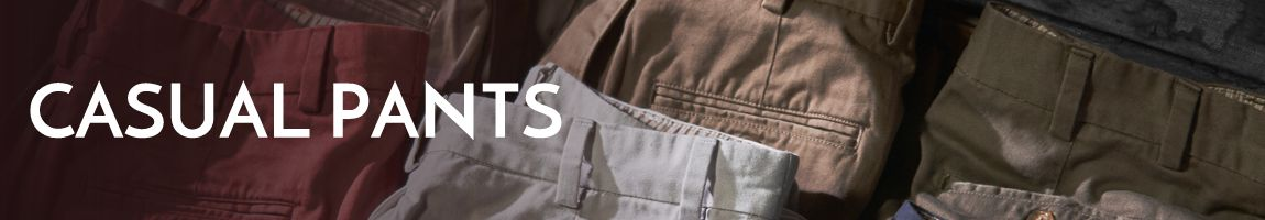 Men's Casual Pants - Bills Khakis and Ledbury