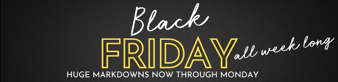 Black Friday - Small Business Saturday - Cyber Monday SAVINGS