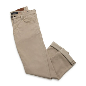 Courage Straight Leg Pant in Mushroom Soft Touch (Size 30) by 34 Heritage