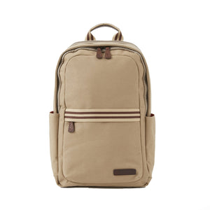 Teddy Zipper Backpack in Desert Canvas by Baekgaard