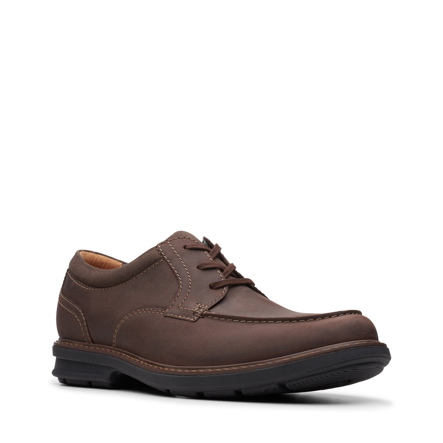 Rendell Walk Oxford in Dark Brown Leather (Size 11 1/2) by Clarks