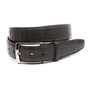 South American Caiman Belt in Brown by Torino Leather