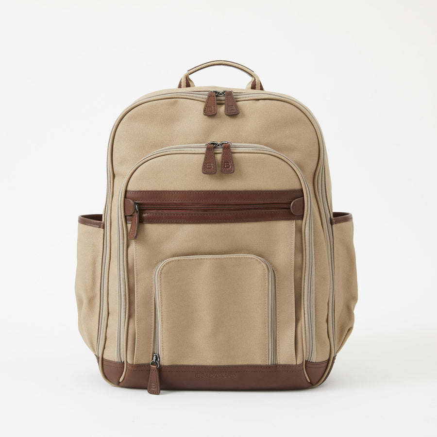 Edward Backpack in Desert Canvas by Baekgaard