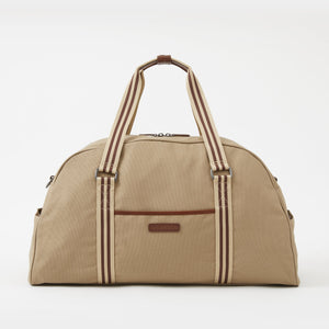 Jimmy Canvas Duffel Bag in Desert by Baekgaard