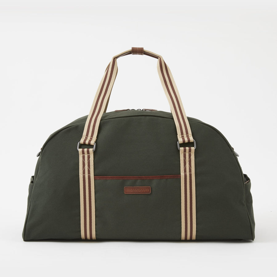 Jimmy Canvas Duffel Bag in Racing Green by Baekgaard