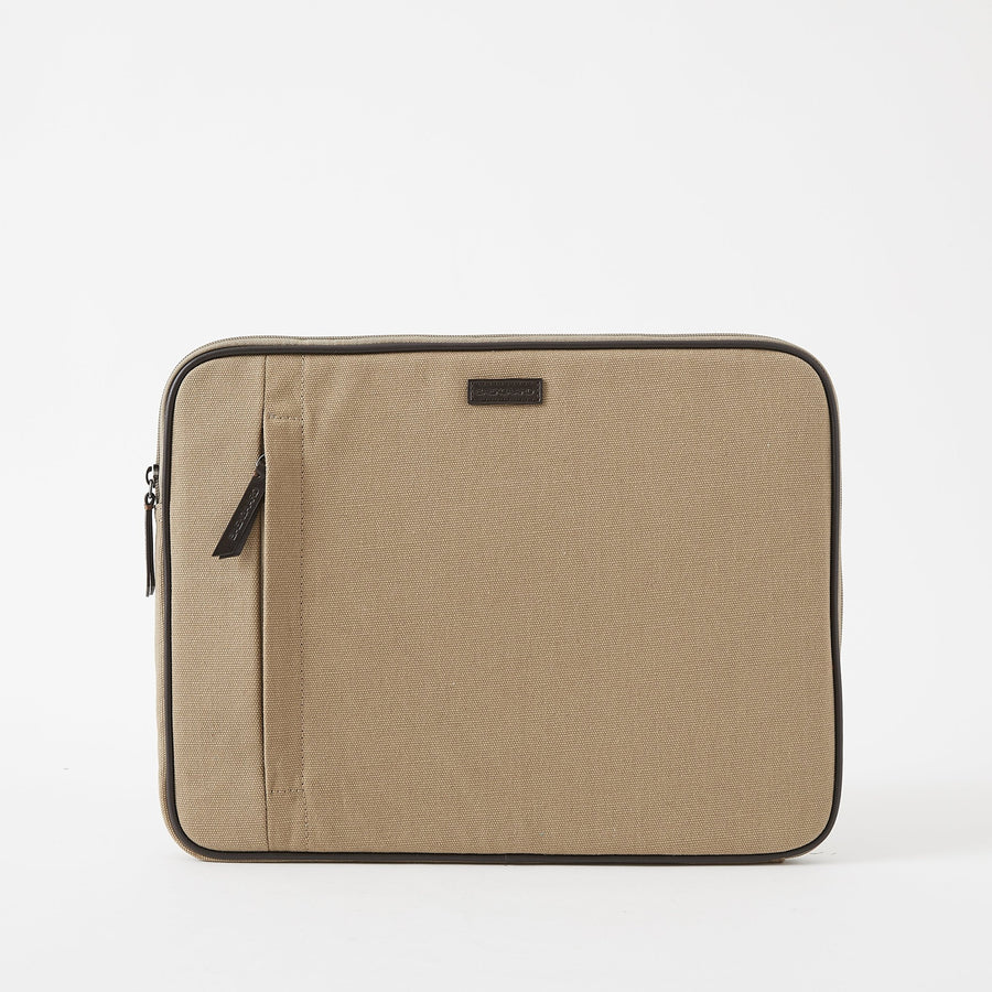 Canvas Laptop Case in Desert by Baekgaard