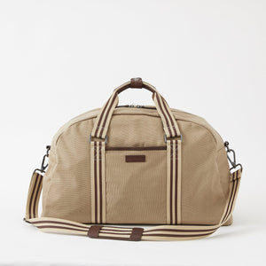 Sloan Canvas Gym Bag in Desert by Baekgaard