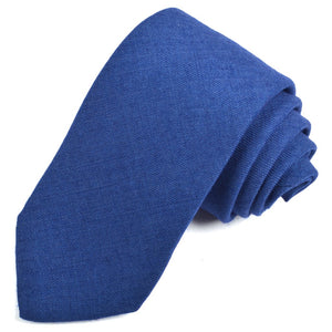 Solid Wool Woven Twill Italian Silk Tie in Choice of 12 Colors by Dion Neckwear