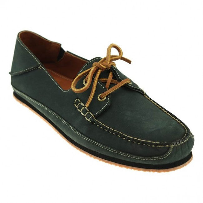 Alex Nubuck Boat Shoe in Flag Navy by T.B. Phelps