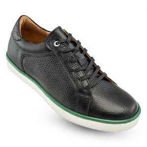 Fairway Casual Golf Sneaker in Black by T.B. Phelps