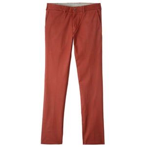 M4 Full Rise Slim Fit Supima Stretch Twills in Russett by Bills Khakis