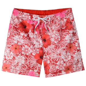 Hibiscus Print Swim Trunks by Bills Khakis