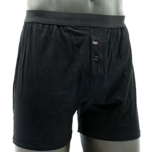 Micro Modal Boxer in Solid Black by Nth Degree