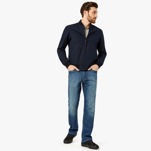Charisma Relaxed Straight Jeans in Mid Cashmere by 34 Heritage