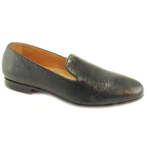 Simpson Peccary One-Piece Loafer in Brown by Alan Payne Footwear