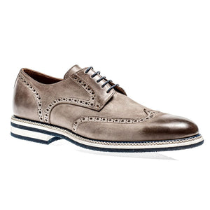 Berlina Wingtip in Corteccia Nubuck by Jose Real