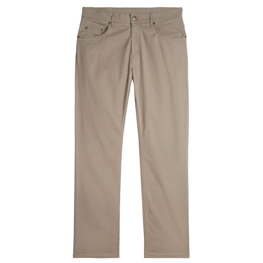 Island Twill 5 Pocket Straight Fit Model in Khaki by Bills Khakis