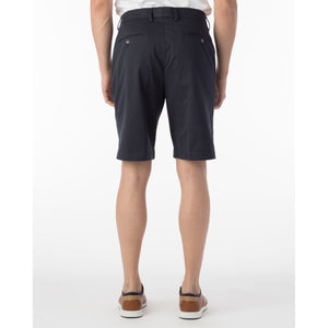 Pima Twill True Khaki Shorts in Navy by Ballin